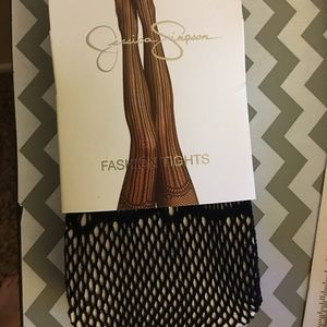 Accessories - Jessica Simpson fishnet stockings